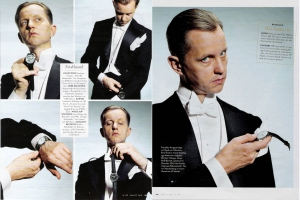 Christine Kelch - Styling  Max Raabe for VANITY FAIR
