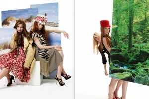 Christine Kelch - Styling  for ICON