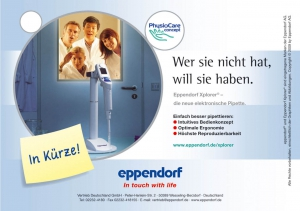 Christine Kelch - Styling  for EPPENDORF