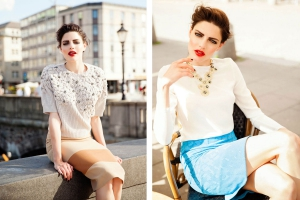 Christine Kelch - Styling&Produktion for EVROPA Magazine photo by Tamara Arne