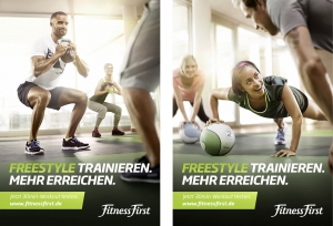 Christine Kelch - Styling   for Fitness First